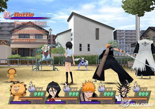 PS2 Bleach: Hanatareshi Yabou | animegameshd